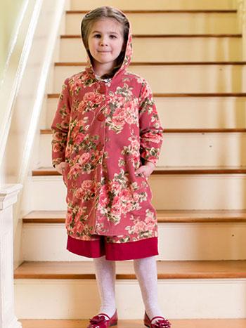 Heirloom Rose Girls Jacket