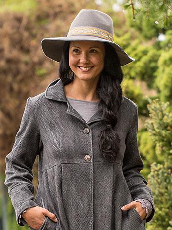 Paisley Wool Felt Hat