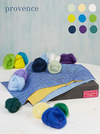 Provence Large Felting Kit