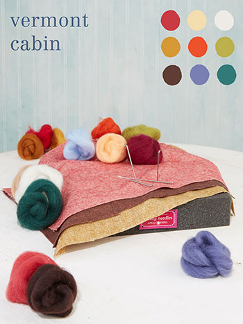 Vermont Cabin Large Felting Kit