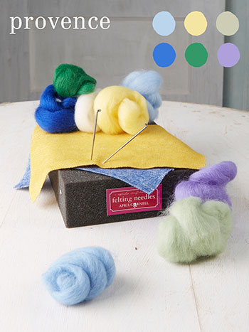 Provence Medium Felting Kit