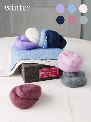 Winter Medium Felting Kit