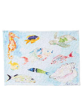 April's Reef Placemat S/4