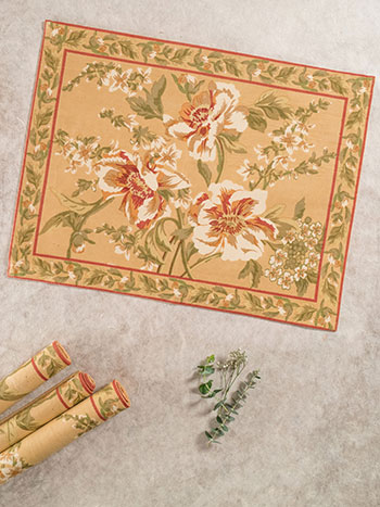 Camelia Placemat S/4