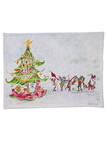 Elves Placemat Set/4