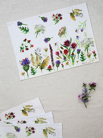 Field Flower Placemat S/4