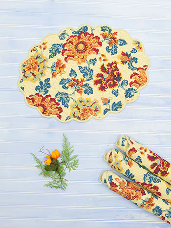 Ming Placemat Quilted Set of 4