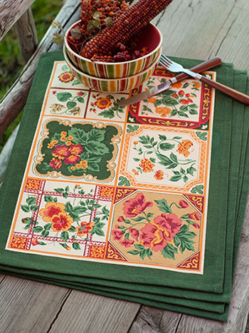 Tile Placemat Set/4