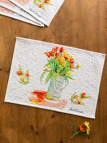 Tulips Placemat S/4