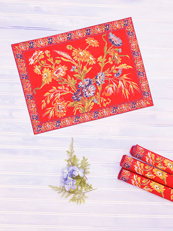Wildflowers Placemat Set of 4