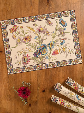 Wildflowers Placemat