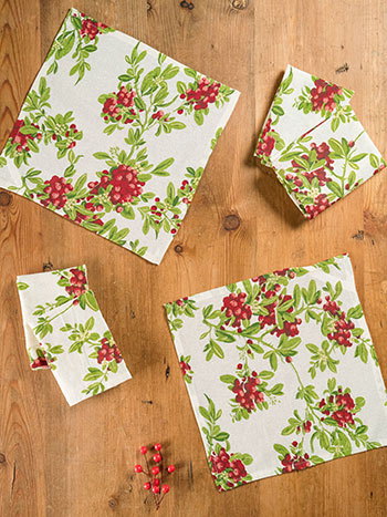 Mistletoe Cocktail Napkin