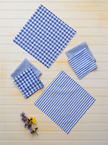 Picnic Patchwork Cocktail Napkin
