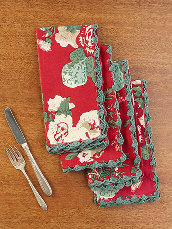 Olivia Napkin Set of 4