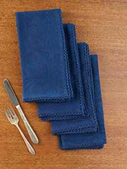 Luxurious Linen Jacq Napkin Set of 4