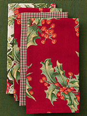 Joyful Patchwork Napkin Set/4