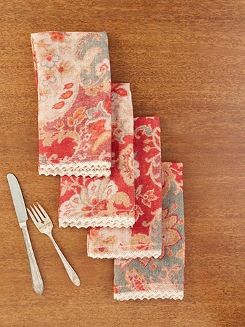 Magic Carpet Linen Napkin Set of 4