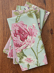 Pretty Patchwork Napkin Set/4 Print