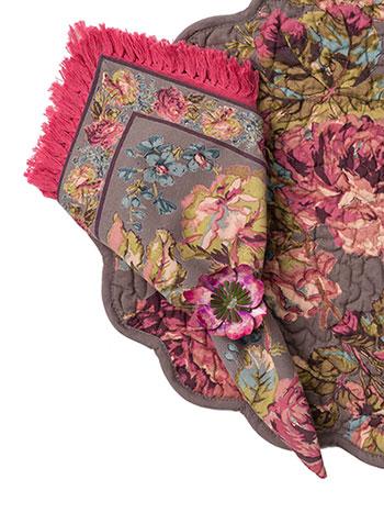 Victorian Rose Napkin Set/4