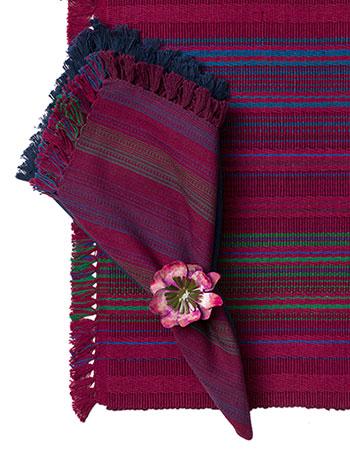Jaipur Stripe Napkin Set/4
