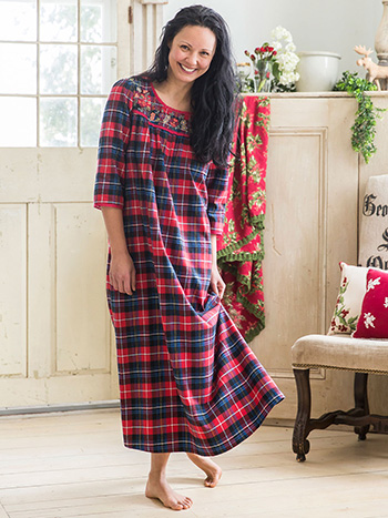 Penny Plaid Nighty