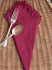 Essential Napkin Set/4 - Magenta