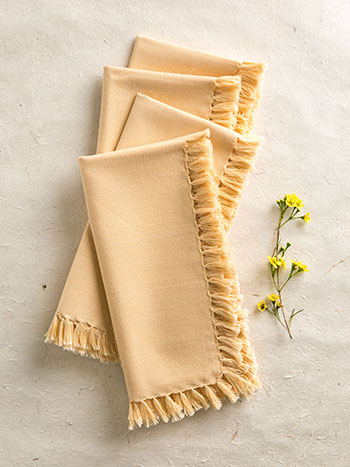 Essential Napkin Set/4 - Cream
