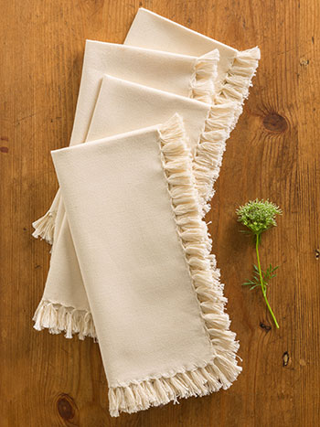 Essential Napkin Set of 4 - Ecru