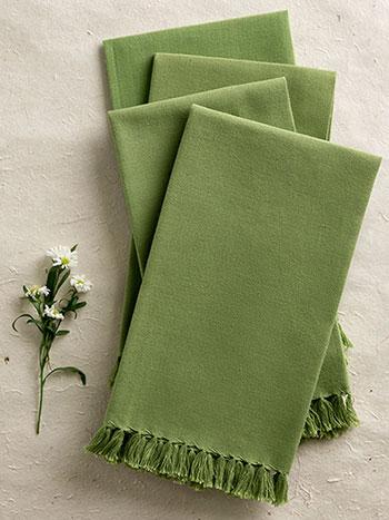 Essential Napkin Set/4 - Green