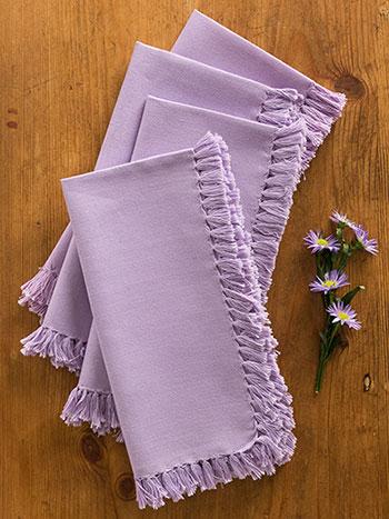 Essential Napkin Set/4 - Lavender