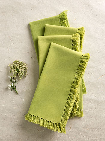 Essential Napkin Set/4 - LtGreen