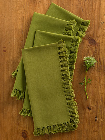 Essential Napkin Set/4 - Olive