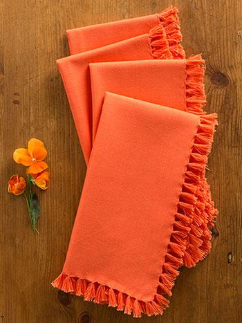 Essential Napkin Set/4 - Orange