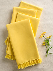 Essential Napkin Set of 4 - Yellow