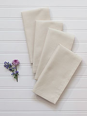 Essential Hemmed Napkin Set of 4