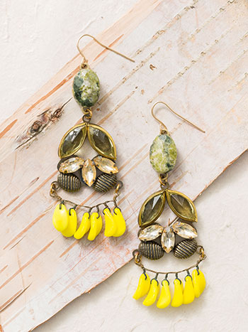 Bohemian Fantasy Drop Earrings