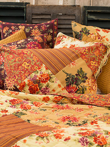 Harvest Patchwork Pillowcase