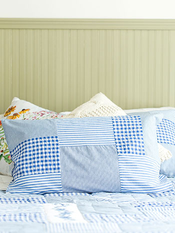 Picnic Patchwork Pillowcase