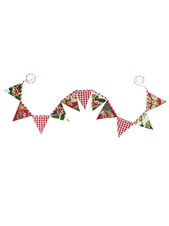 Merry Maker's Patchwork Pennants