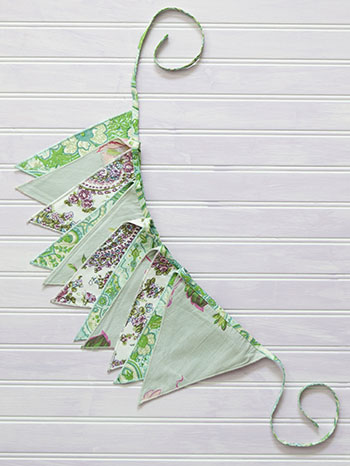 Love Letter Patchwork Pennants