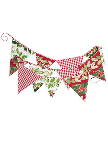 Merry Maker's Patchwork Party Pennants
