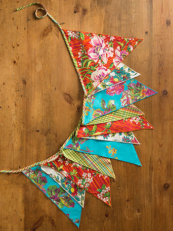 Fiesta Patchwork Party Pennants