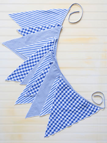 Picnic Patchwork Party Pennants