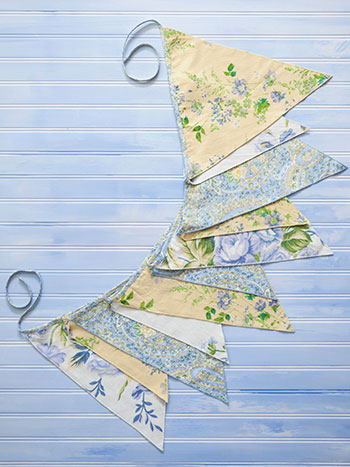 Provence Patchwork Party Pennants