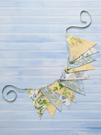Provence Patchwork Pennants