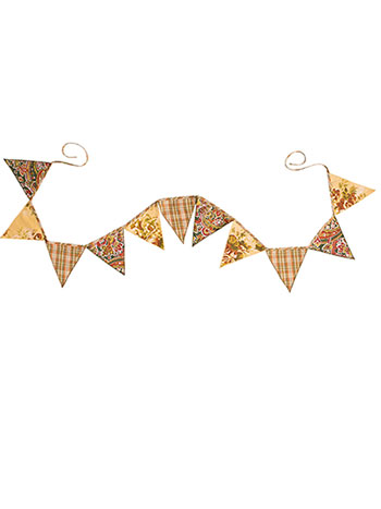 September Patchwork Pennants