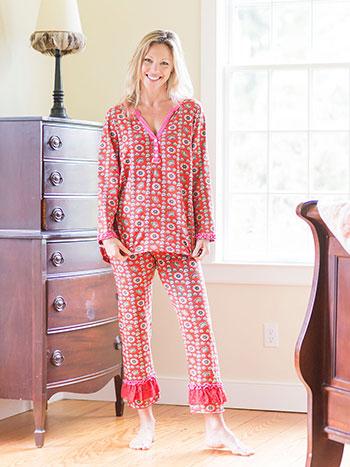 Teacup Jersey Pajama