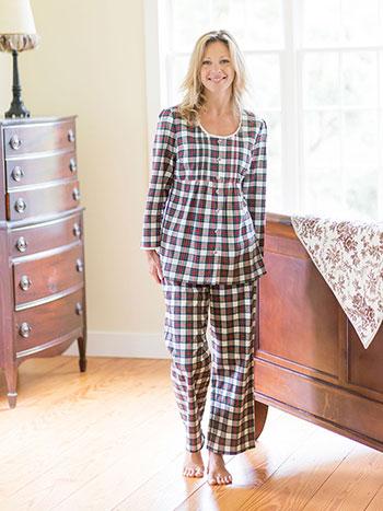 Bonnie Plaid Pajama