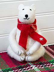 Nixie Felted Polar Bear
