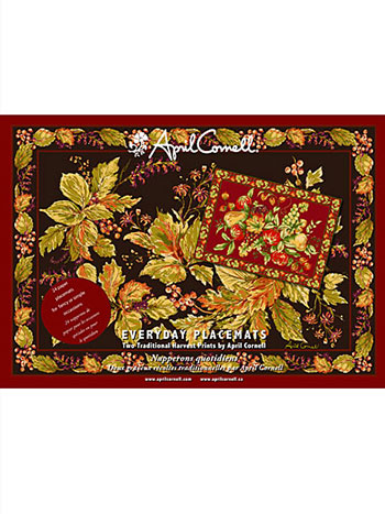 Harvest Traditional Paper Placemat Set/24